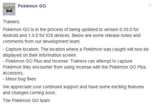 Pokémon GO cập nhật tính năng hiển thị vị trí đã bắt Pokémon - Ảnh 1.