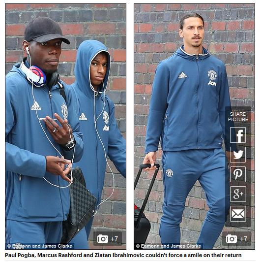 Man Utd buồn như mất sổ gạo trở về Old Trafford sau trận thua muối mặt - Ảnh 2.
