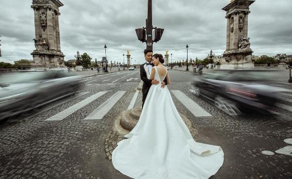 Ảnh cưới như cổ tích của cô nàng thời tiết Mai Ngọc - Ảnh 6.