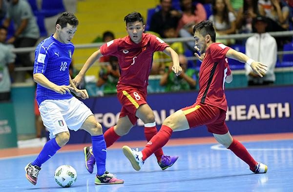 Việt Nam vượt qua vòng bảng FIFA Futsal World Cup 2016 - Ảnh 3.