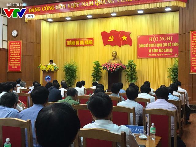 Bộ trưởng Bộ Giao thông vận tải Trương Quang Nghĩa làm Bí thư Đà Nẵng - Ảnh 1.