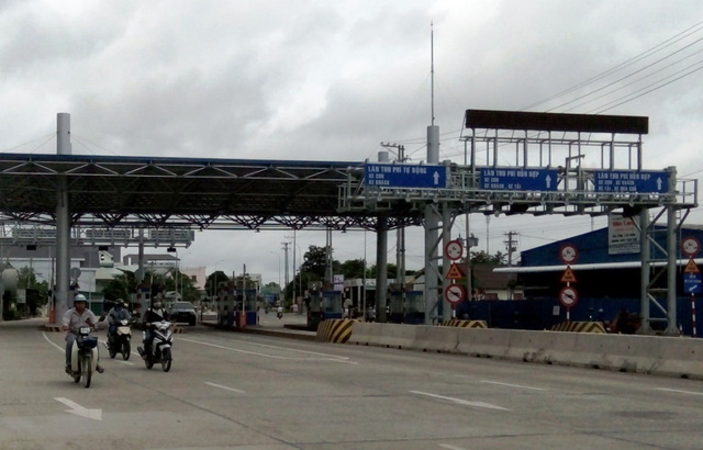 Bộ GTVT không chấp nhận di dời trạm thu phí T2 trên Quốc lộ 91B - Ảnh 1.