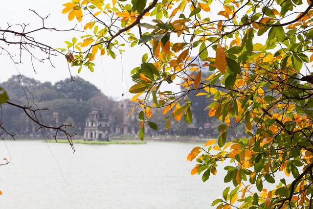 Ngỡ ngàng vẻ đẹp của Hà Nội trong tiết giao mùa tháng 4 - Ảnh 2.
