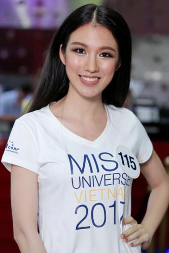 Lộ diện 35 người đẹp đầu tiên vào vòng bán kết Hoa hậu Hoàn vũ Việt Nam 2017 - Ảnh 4.