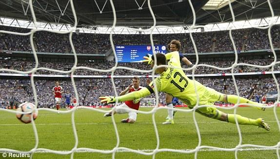 Những hình ảnh đáng nhớ trong ngày đăng quang FA Cup thứ 13 của Arsenal - Ảnh 12.