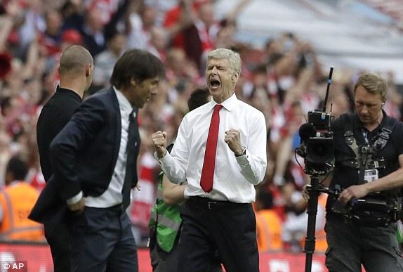 Những hình ảnh đáng nhớ trong ngày đăng quang FA Cup thứ 13 của Arsenal - Ảnh 15.