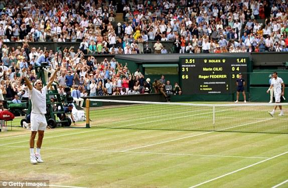 Roger Federer lần thứ 8 vô địch Wimbledon - Ảnh 4.