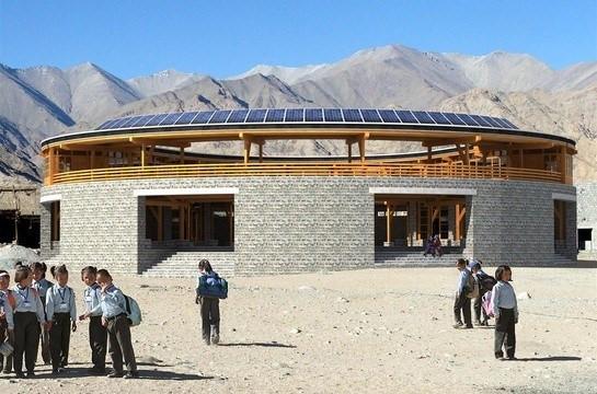 Các trường học có kiến trúc đẹp nhất Ấn Độ - Ảnh 16.