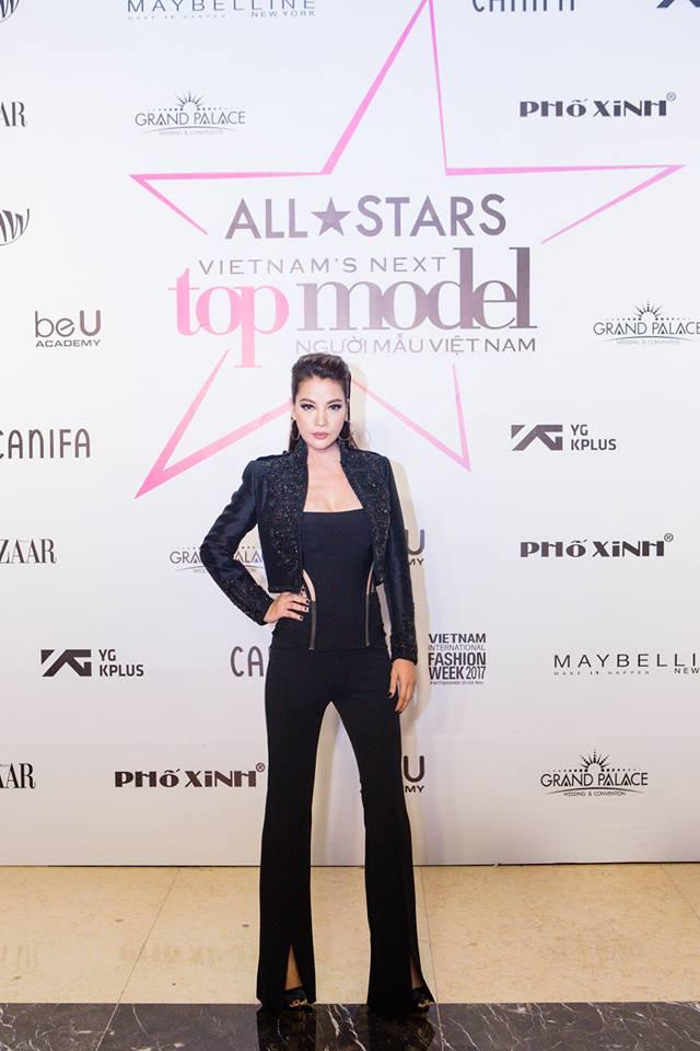 Trương Ngọc Ánh tự tin ngồi ghế giám khảo Vietnams Next Top Model 2017 All Stars - Ảnh 1.