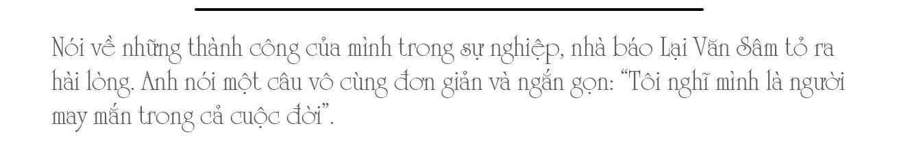 MC, Nhà báo Lại Văn Sâm: Truyền hình cho tôi tất cả - Ảnh 1.