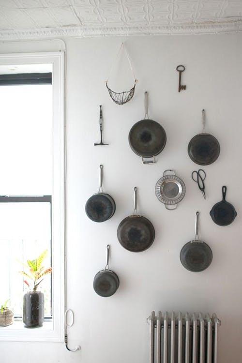 Trang trí tường nhà vừa ấn tượng vừa tiện dụng trong không gian nhỏ - Ảnh 6.