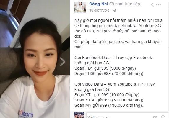 """Livestream - """"Chiêu trò"""" hút fan mới của giới showbiz Việt - Ảnh 1."""