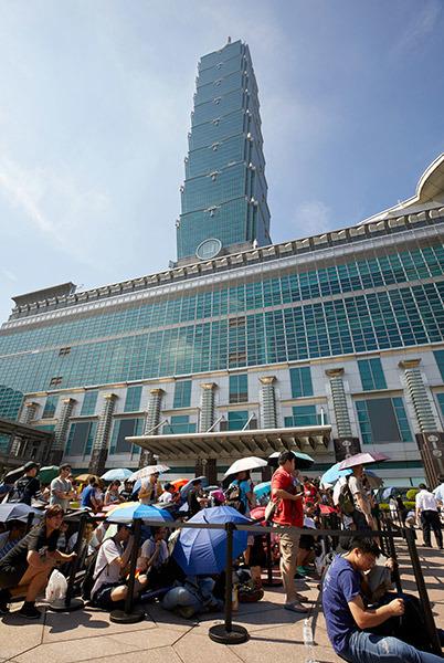 Apple Store tại châu Á nêm chặt người ngày khai trương - Ảnh 2.