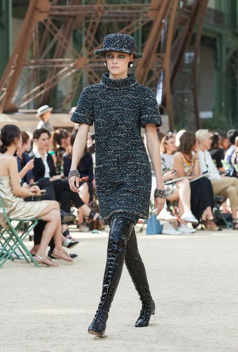 Chanel mang tháp Eiffel lên sàn diễn thời trang cao cấp - Ảnh 16.