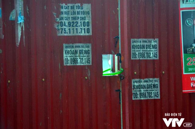 Hiện trường vụ đổ sập công trình trường mầm non Vườn Xanh ở Mỹ Đình - Ảnh 6.