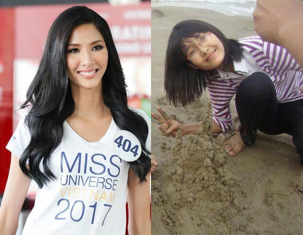 Loạt ảnh dậy thì thành công của người đẹp Hoa hậu Hoàn vũ Việt Nam 2017 - Ảnh 1.