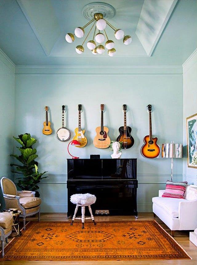 Trang trí tường nhà vừa ấn tượng vừa tiện dụng trong không gian nhỏ - Ảnh 9.