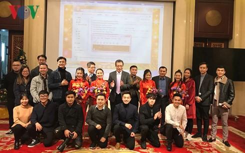 Tết Dương lịch 2018 đầm ấm tại Đại sứ quán Việt Nam tại Trung Quốc - Ảnh 3.