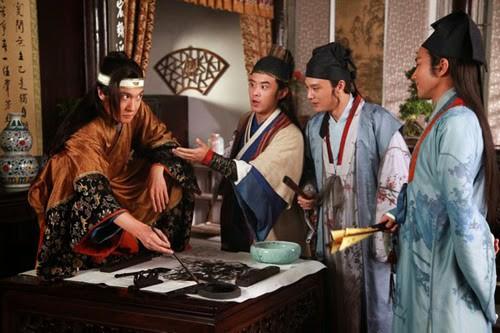 Phim truyện Trung Quốc mới trên VTV2: Giang Nam tứ đại tài tử - Ảnh 1.