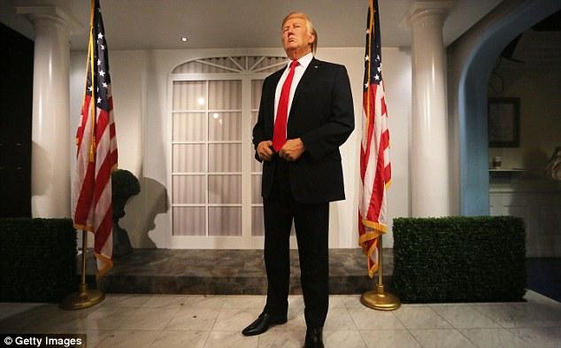 Anh: Bảo tàng Madame Tussauds ra mắt tượng sáp Donald Trump - Ảnh 2.