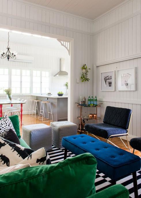 Ngắm căn nhà hiện đại nhiều màu sắc giữa vùng thôn quê - Ảnh 4.