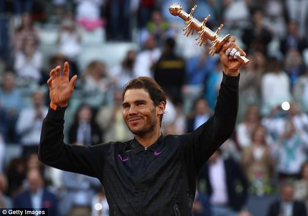 Vô địch Madrid Open, Nadal san bằng kỷ lục với Djokovic - Ảnh 1.