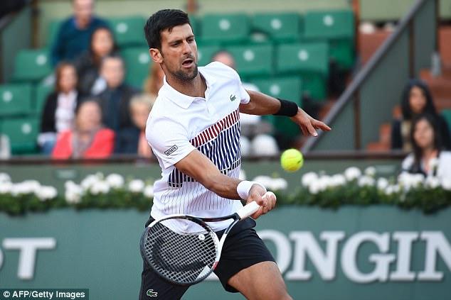 Pháp mở rộng 2017: Thắng thuyết phục Albert Ramos, Novak Djokovic giành quyền vào tứ kết - Ảnh 1.