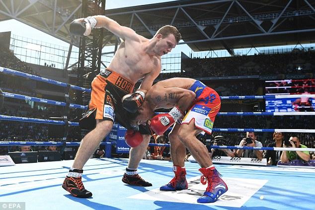 Manny Pacquiao thất bại trong trận tranh đai vô địch bán trung WBO - Ảnh 1.