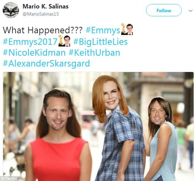 Nụ hôn dậy sóng Emmy 2017 của Nicole Kidman và bạn diễn gây bão MXH - Ảnh 5.