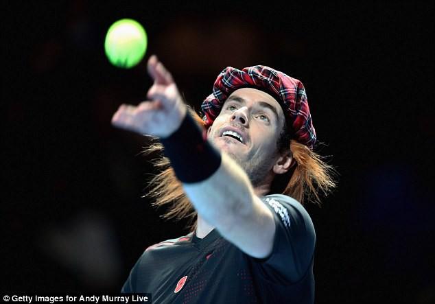 ẢNH: Ngộ nghĩnh Roger Federer mặc váy đối đầu với Andy Murray - Ảnh 10.