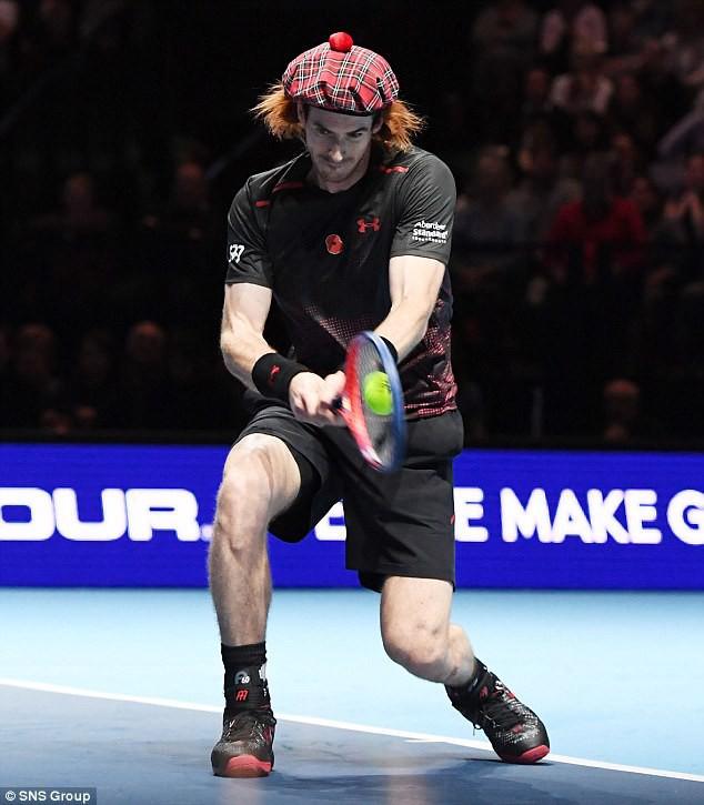 ẢNH: Ngộ nghĩnh Roger Federer mặc váy đối đầu với Andy Murray - Ảnh 9.