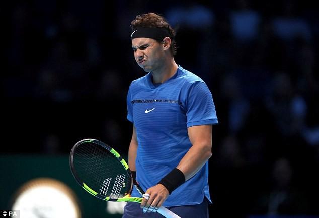 Thất bại trước David Goffin, Rafael Nadal rút lui khỏi ATP Finals 2017 - Ảnh 1.