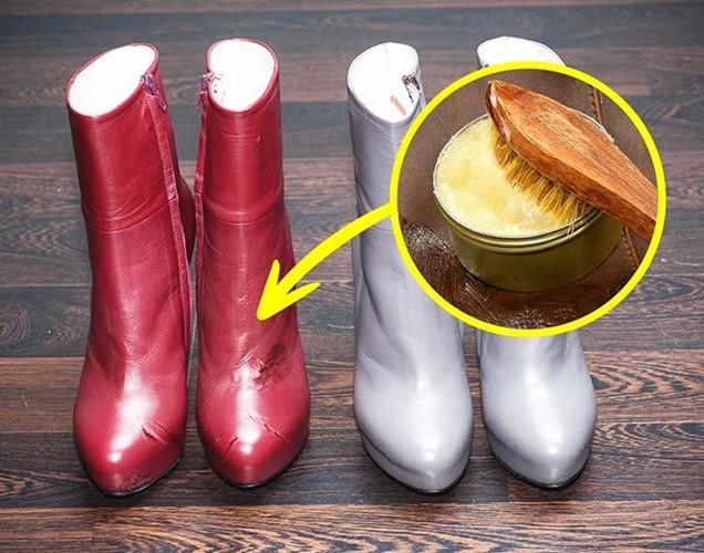 Mẹo hay làm sạch giày da và quần áo - Ảnh 7.