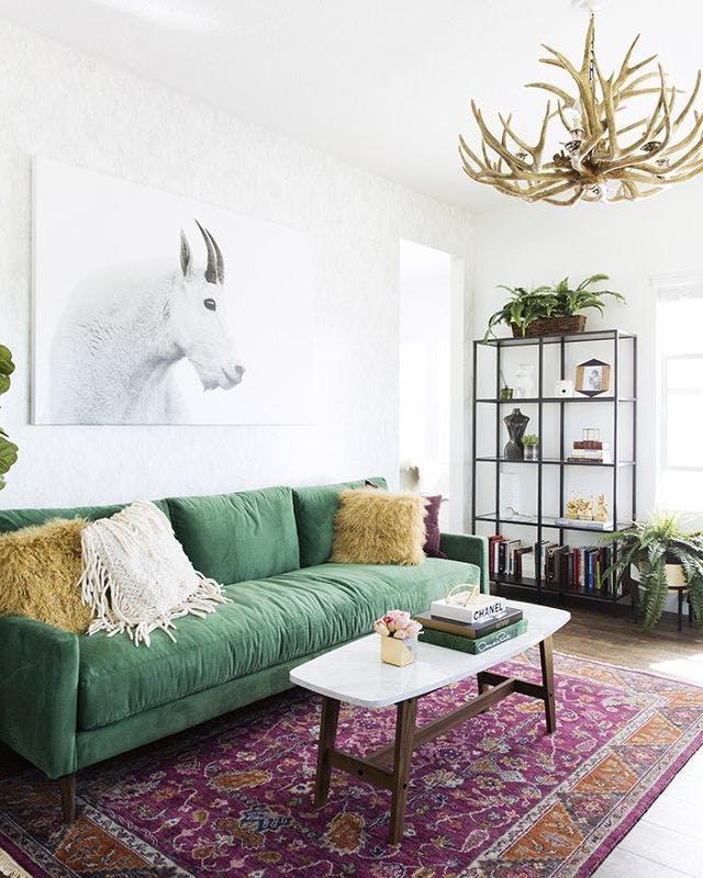 Tạo điểm nhấn nổi bật cho không gian trong nhà bằng màu xanh lá dịu mát - ảnh 5