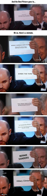 Cười té ghế với loạt ảnh chế về thảm họa trao nhầm giải tại Oscar 2017 - Ảnh 3.