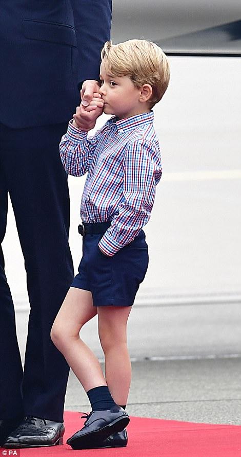 Anh em Hoàng tử bé nước Anh siêu đáng yêu cùng cha mẹ công du Ba Lan - Ảnh 10.