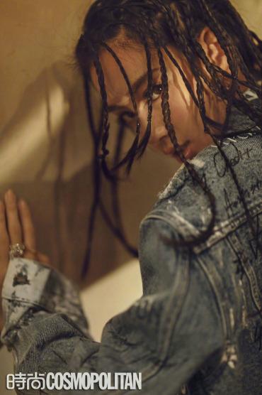 Angelababy rũ bỏ hình ảnh dịu dàng, biến thành cô gái đường phố - Ảnh 4.