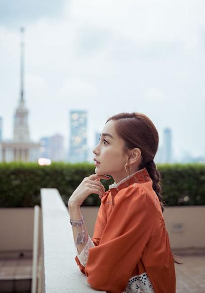 Mòn mắt trước nhan sắc của vợ Huỳnh Hiểu Minh - Ảnh 3.