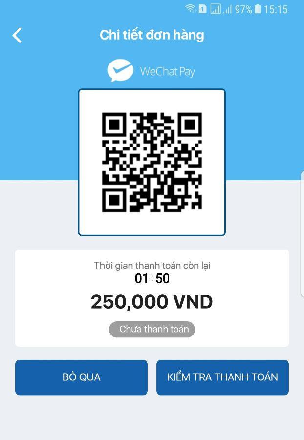 Khách du lịch Trung Quốc đã có thể thanh toán tại Việt Nam qua WeChat Pay - Ảnh 1.