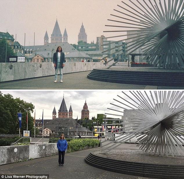 Độc đáo bộ ảnh xưa và nay sau 30 năm ở châu Âu - Ảnh 3.