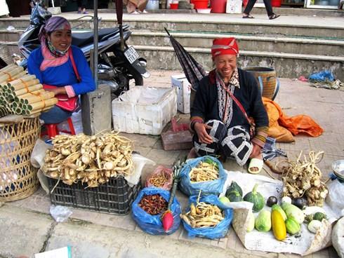 Thong dong dạo bước chợ phiên phố núi Sa Pa - Ảnh 6.