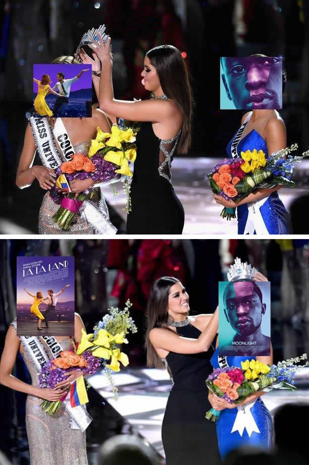 Cười té ghế với loạt ảnh chế về thảm họa trao nhầm giải tại Oscar 2017 - Ảnh 2.