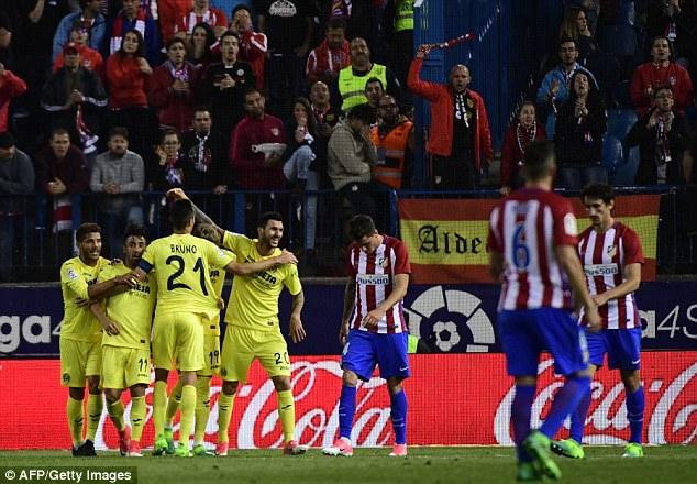 Atletico Madrid 0-1 Villarreal: Cú sảy chân tại Calderon - Ảnh 3.