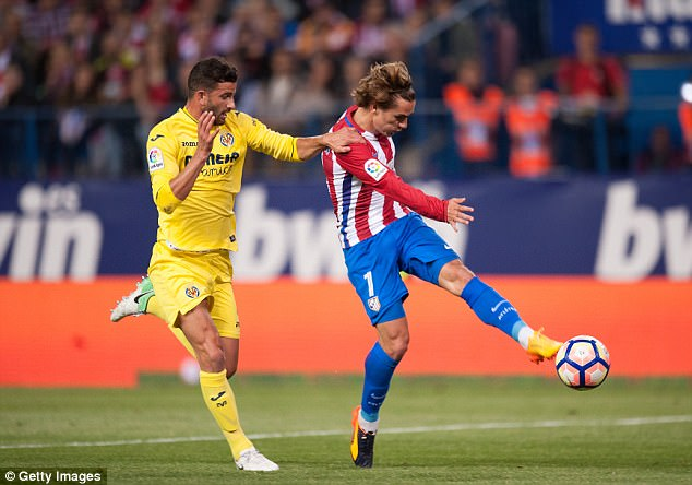Atletico Madrid 0-1 Villarreal: Cú sảy chân tại Calderon - Ảnh 1.