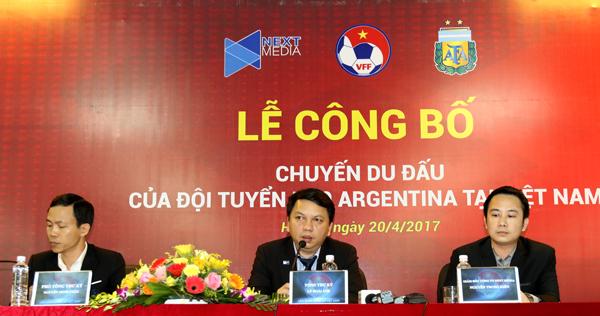 Du đấu tại Việt Nam, U20 Argentina thử sức U20 Việt Nam và U22 Việt Nam - Ảnh 1.