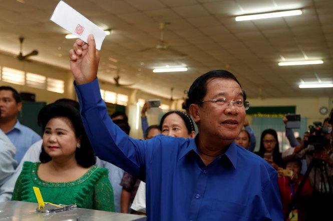 Bầu cử Campuchia: Đảng CPP tiếp tục giành chiến thắng