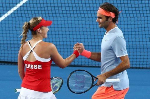 Hopman Cup 2018: Roger Federer giúp ĐT Thụy Sĩ khởi đầu mỹ mãn - Ảnh 2.