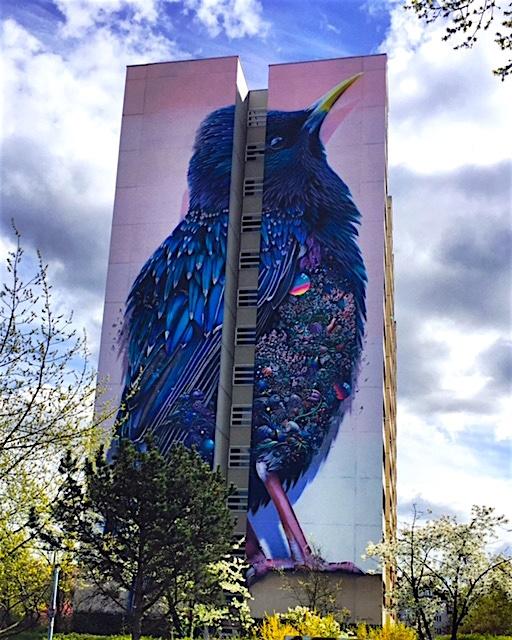 Triển lãm nghệ thuật đường phố tại Đức - Ảnh 7.