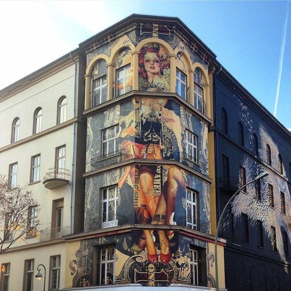 Triển lãm nghệ thuật đường phố tại Đức - Ảnh 6.