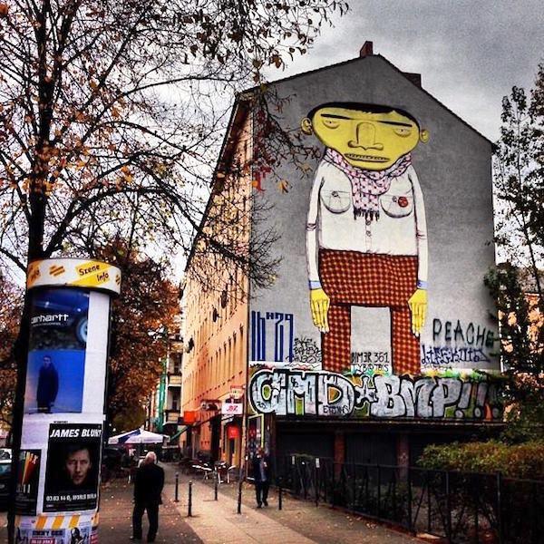Triển lãm nghệ thuật đường phố tại Đức - Ảnh 4.